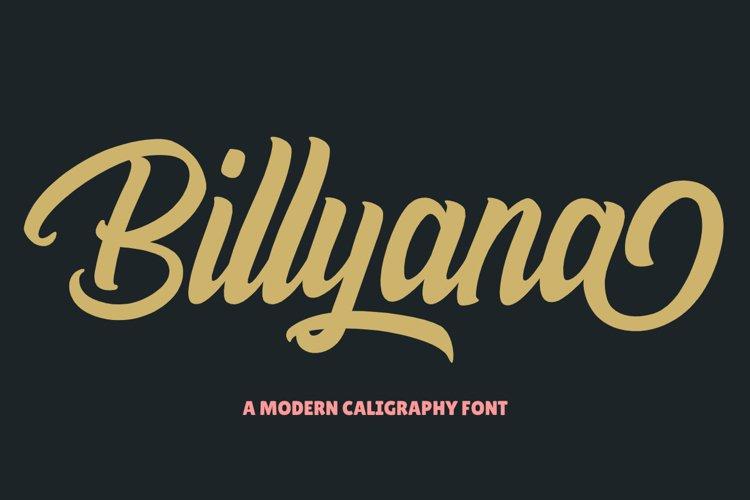 Billyana example image 1