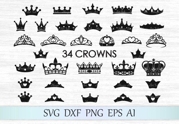 Crown svg, Crown svg file, Crowns svg, Tiara svg, Crown cut file, Princess crown svg, King crown svg, Crown clipart, Queen crown
