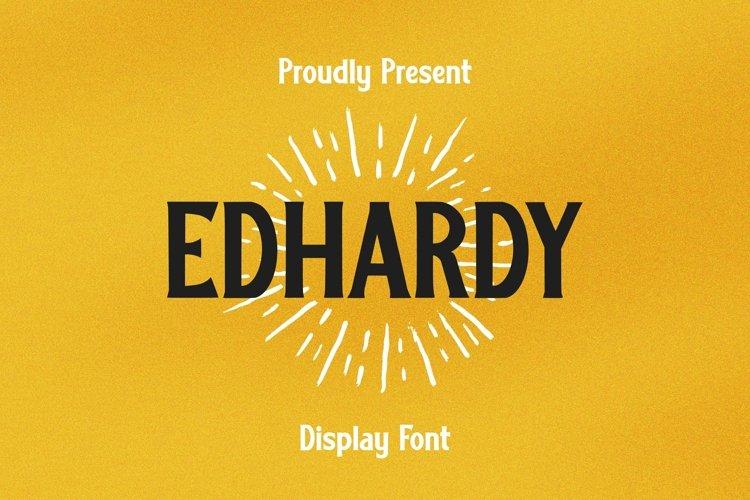 Web Font Edhardy Font example image 1