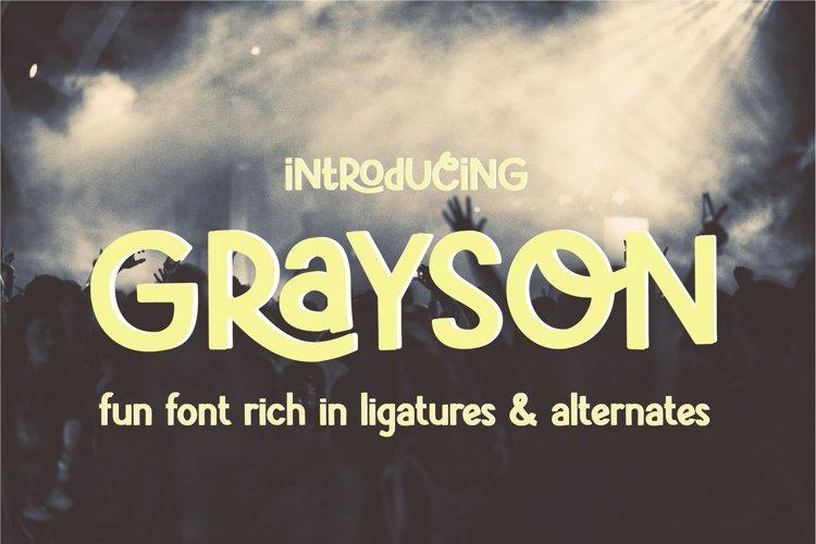 Grayson example image 1