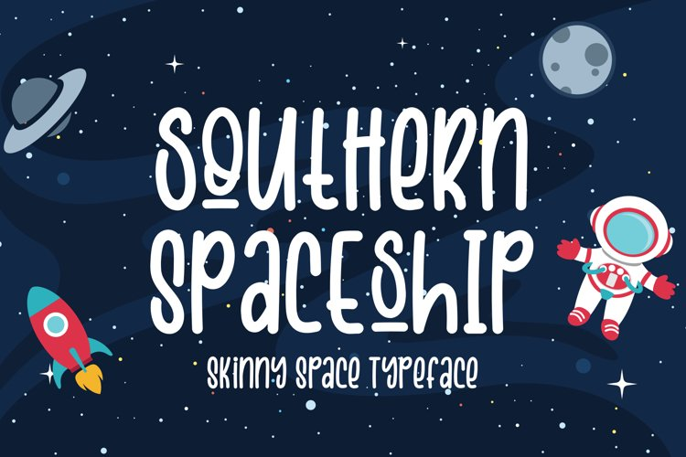 Southern Spaceship example image 1