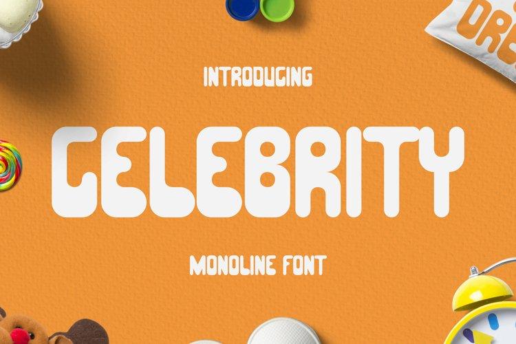 Celebrity Font example image 1
