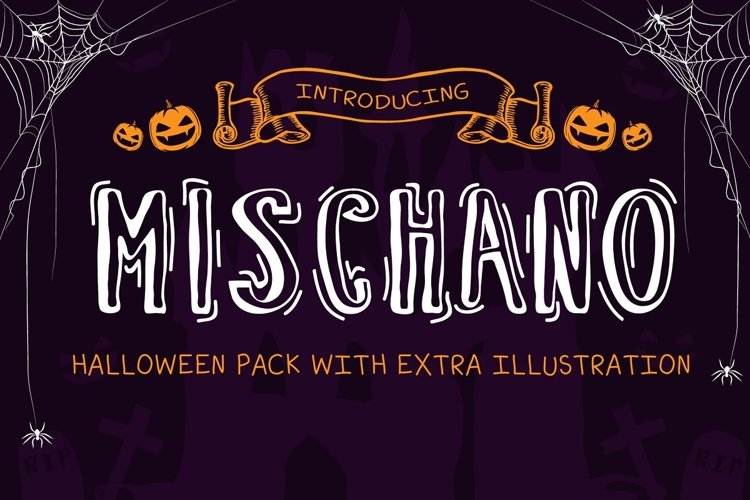 Mischano halloween pack example image 1