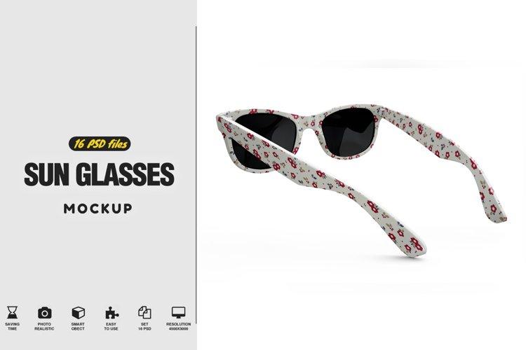 Sun Glasses Mockup example image 1
