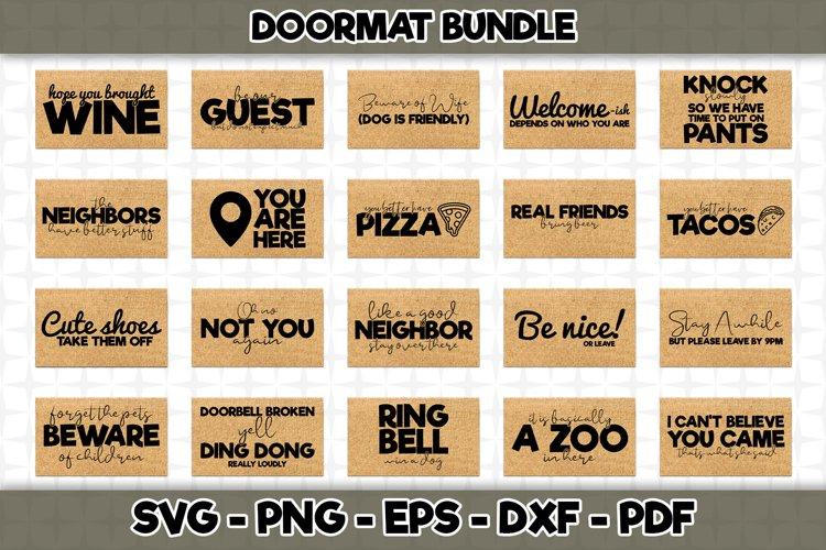 Doormat SVG Bundle - 20 Designs Included - SVG Cut Files