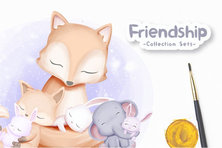 Friendship Collection Sets Vol.1 example image 1
