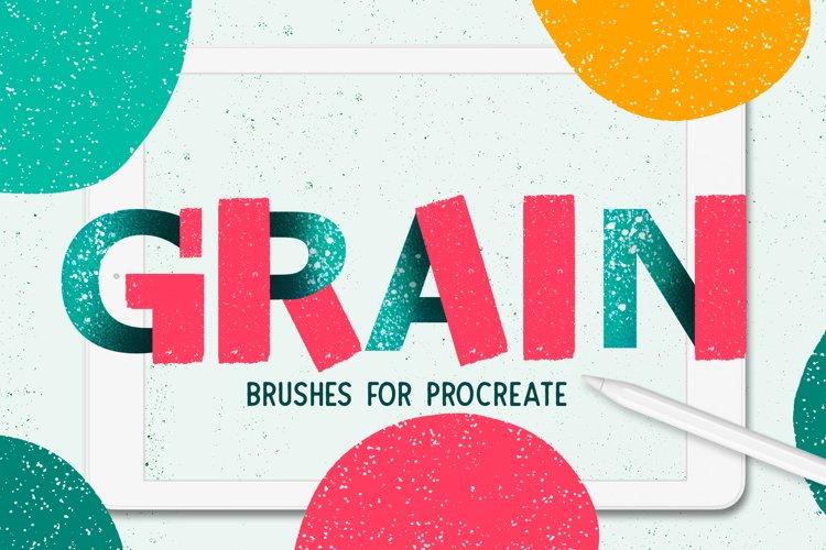 Grainy Brush Set for Procreate example image 1