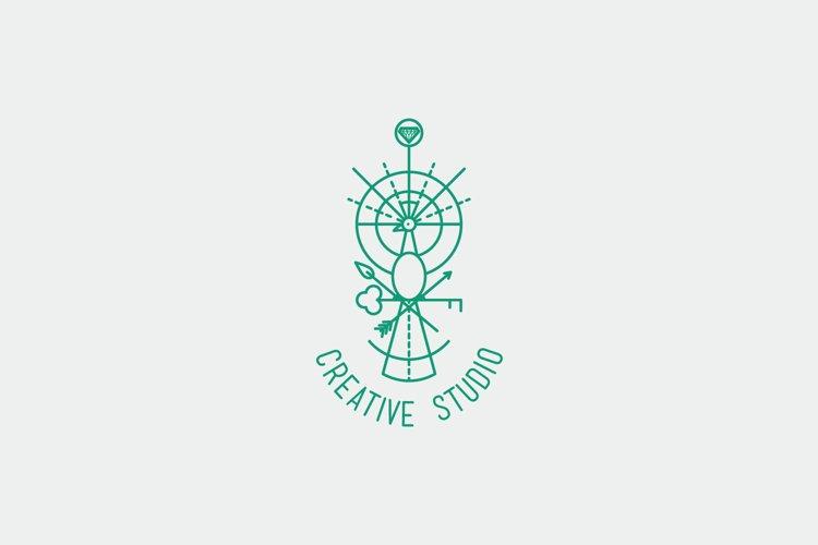 Creative Studio Logo Template example image 1