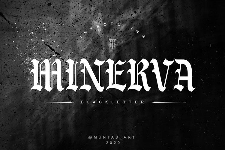 Minerva | Blackletter Font example image 1