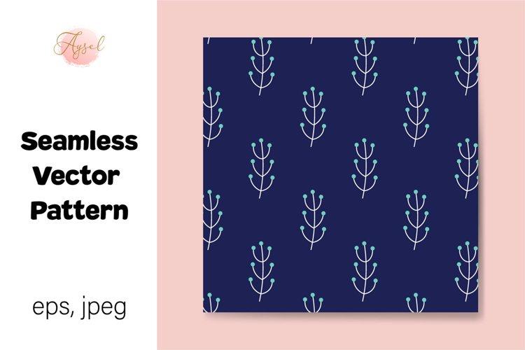 Wildflowers Digital Paper, Seamless Pattern example image 1