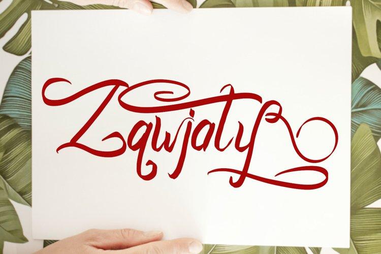 Zawjaty Handwritten Font example image 1