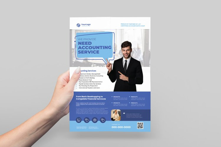 Accounting Flyer Design example image 1