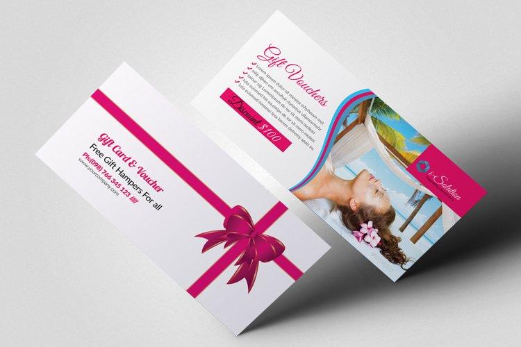 Beauty Spa & Massage Gift Vouchers example image 1