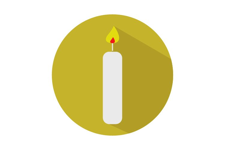 Candle icon example image 1