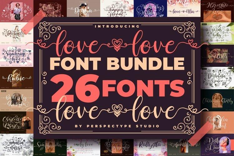 Love love Font Bundle from Perspectype Studio