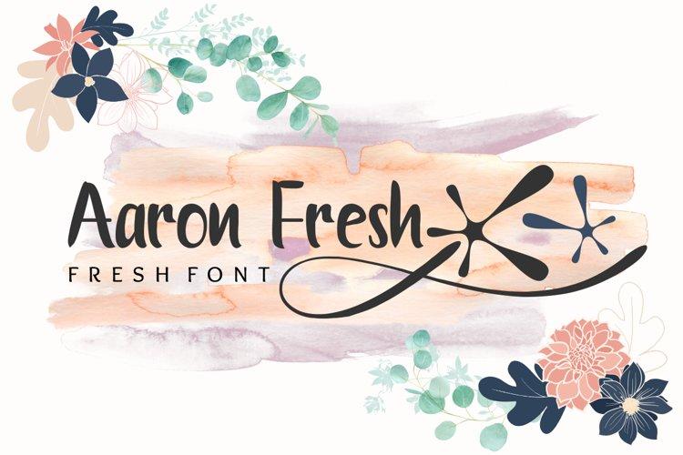 Aaron Fresh example image 1