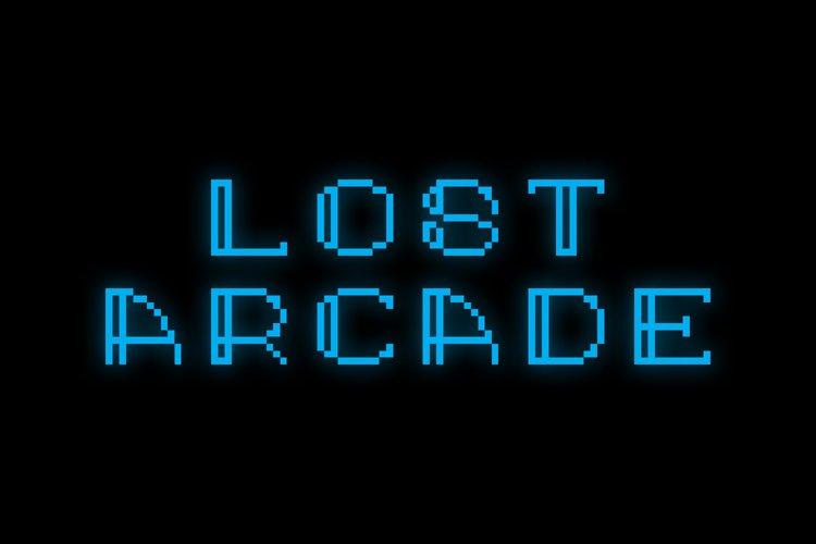 Lost Arcade Sans Adorn