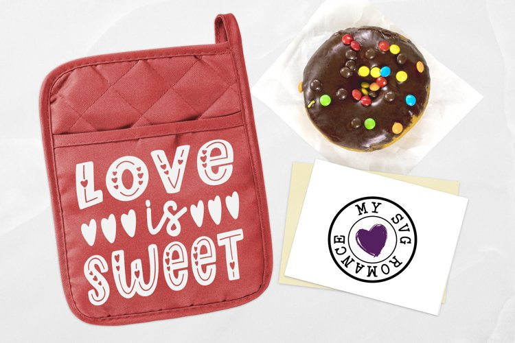 Love Is Sweet SVG DXF PNG