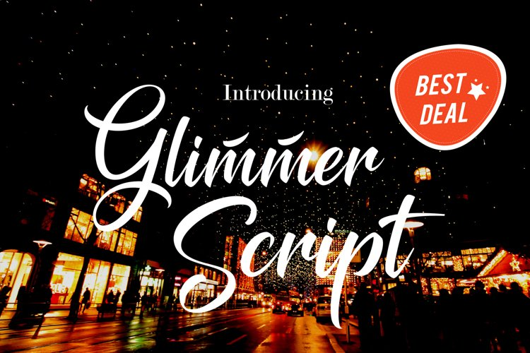 Glimmer Script - Free Font of The Week Font