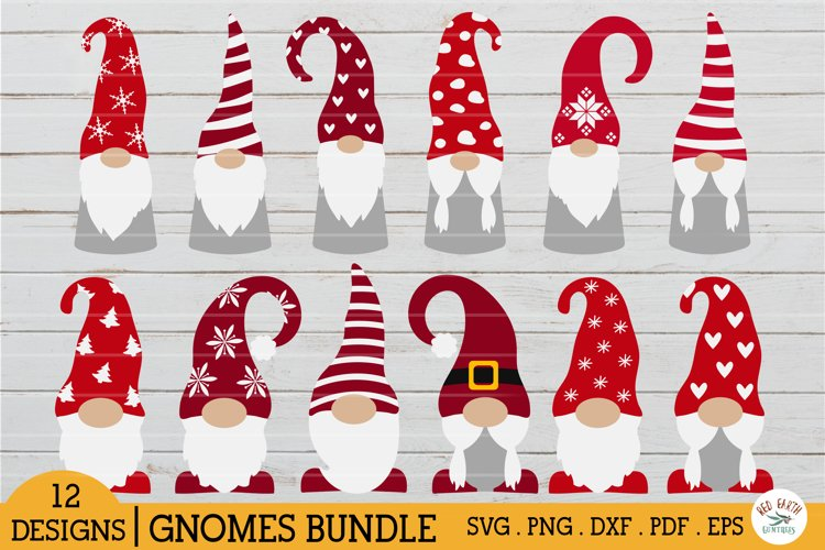 Christmas gnomes bundle,Scandi gnome in SVG,PNG,DXF,PDF,EPS