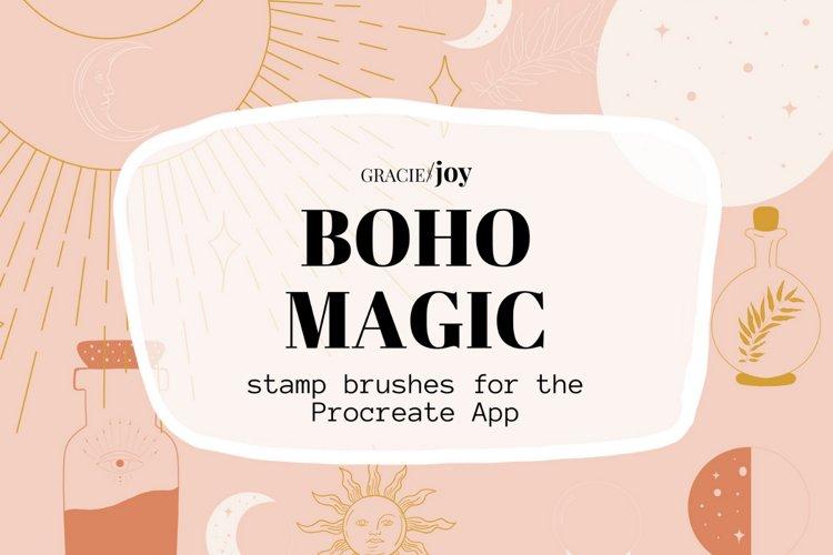 Boho Magic Stamp Brushes for Procreate