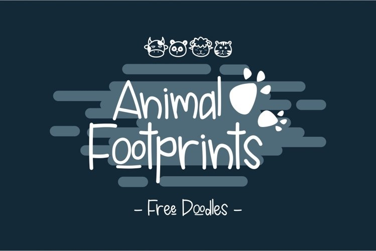 Animal Footprints example image 1