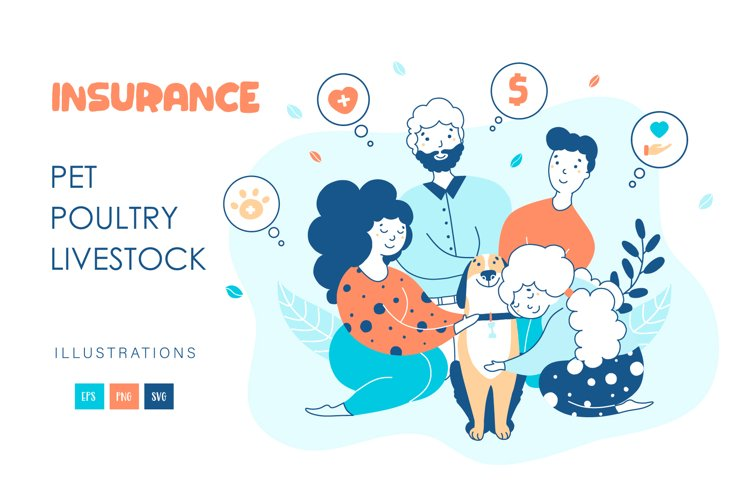 Pet insurance - illustrations example image 1
