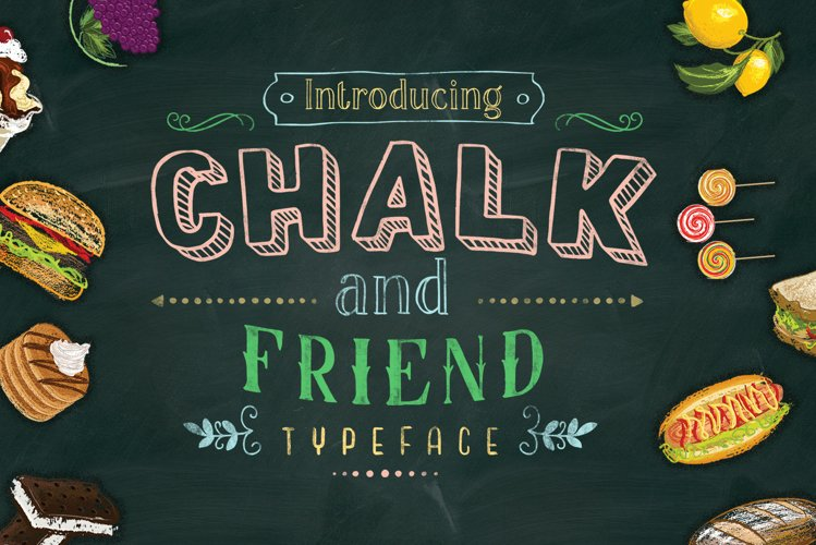 Chalk and Friend example image 1