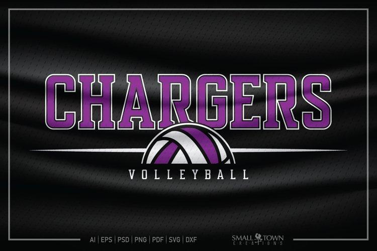 Charger, Charger Volleyball, Volleyball, Charger Mascot