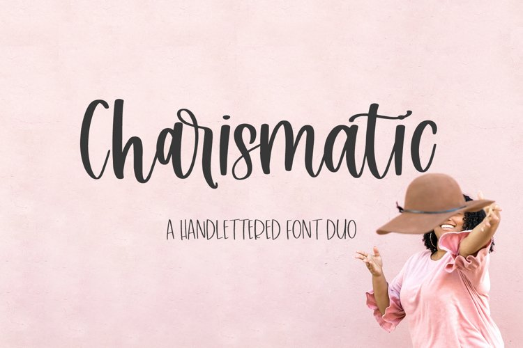 Charismatic Font Duo example image 1