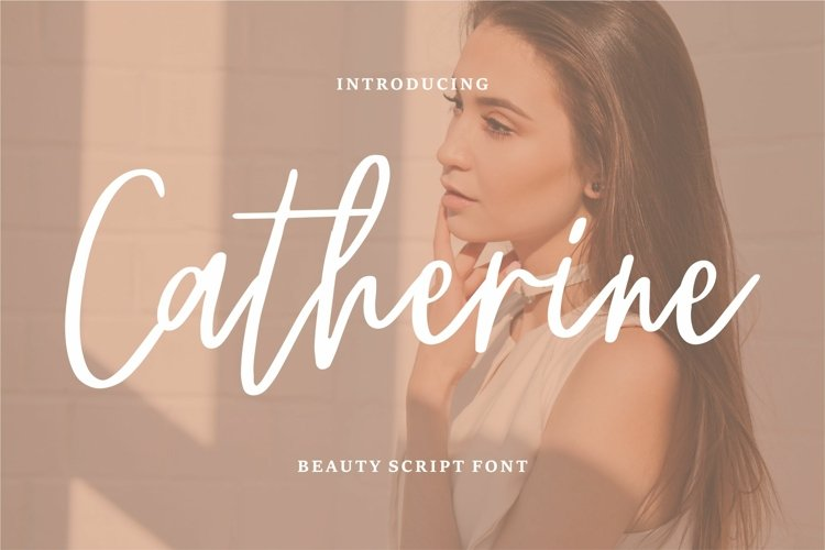 Chaterine - Beauty Script Font example image 1