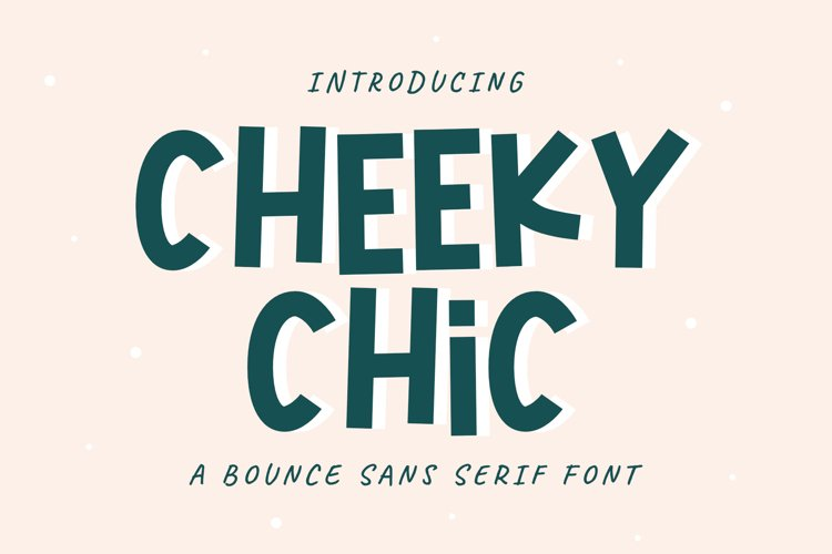 Cheeky Chic example image 1
