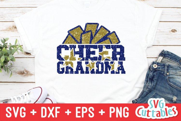 Cheer Grandma SVG   Cheer Shirt example image 1