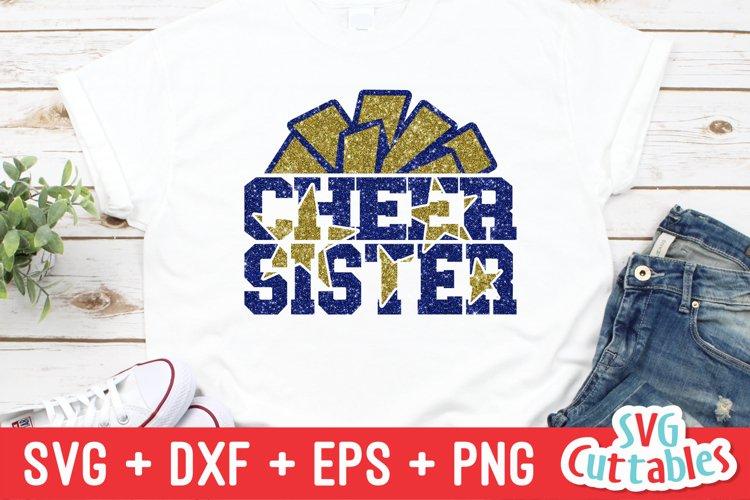 Cheer Sister SVG | Cheer Shirt example image 1