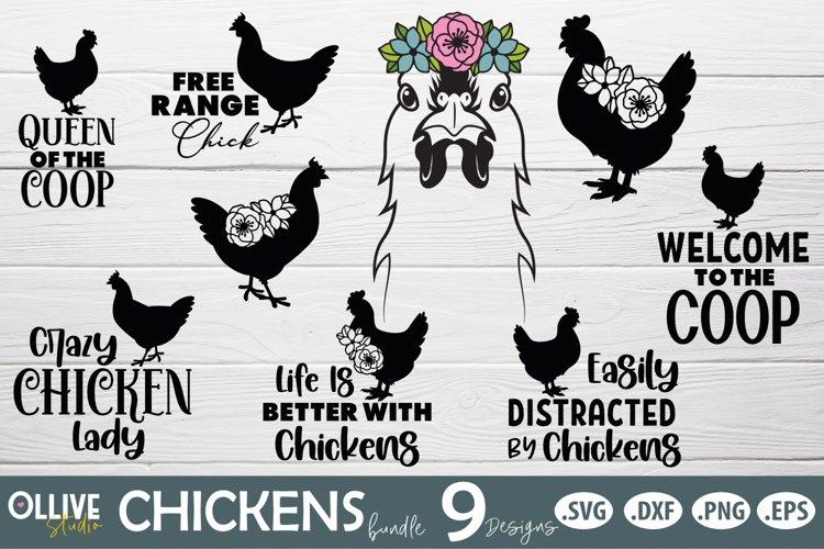 Chicken SVG Bundle   Chicken Quotes SVG