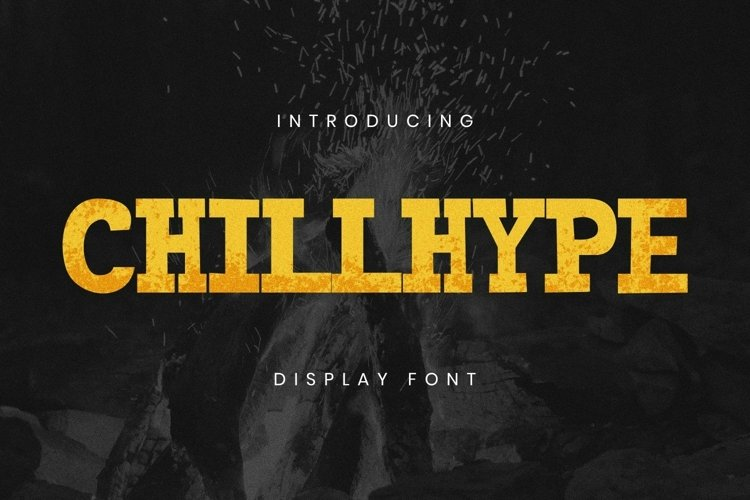 Web Font Chillhype Font example image 1