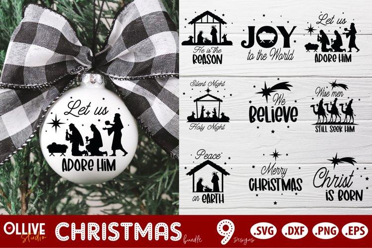 Christmas SVG Ornaments | Christmas SVG