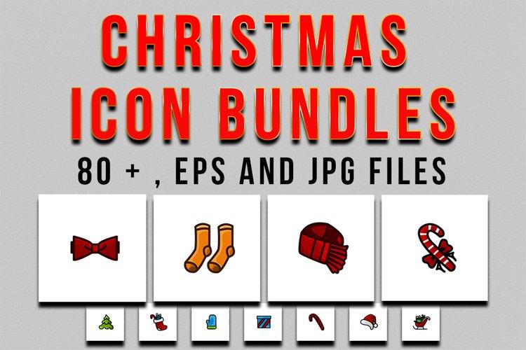 christmas icon bundle