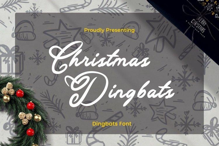 Web Font Christmas - Dingbats Font