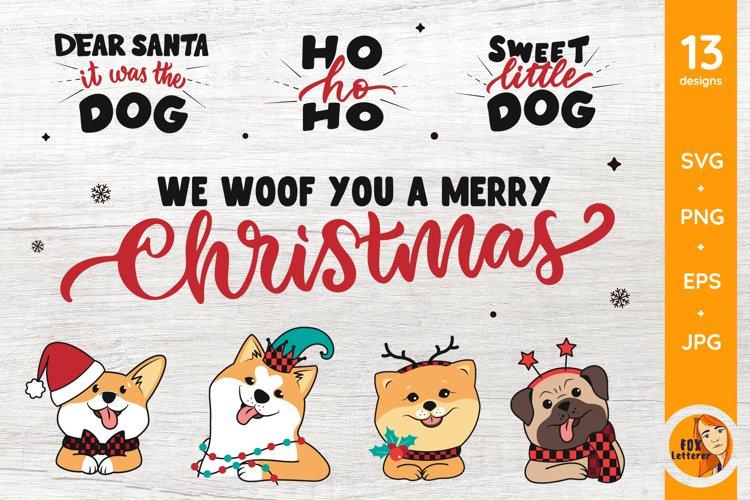 Dog svg, png. Christmas svg bundle. Christmas sublimation