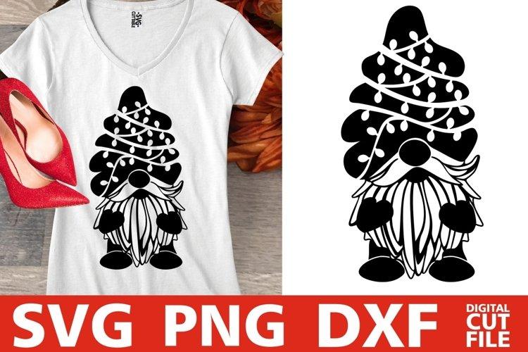 Christmas svg, Gnome svg, Christmas Tree svg, Santa Claus example image 1