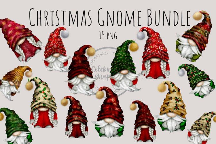 Christmas Bundle Gnomes PNG Clipart