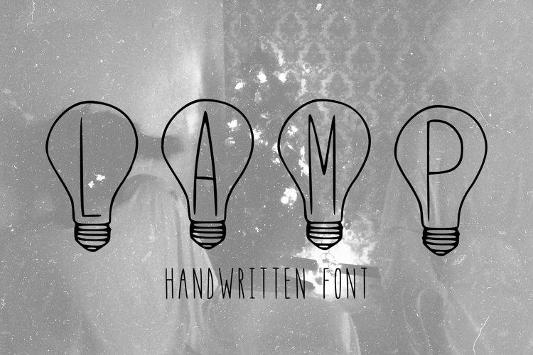 holidays handwritten font