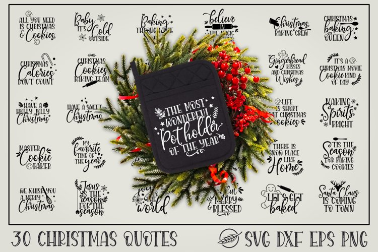 Christmas pot holder quotes example image 1