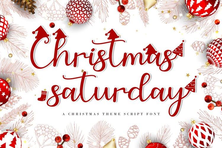 Christmas Saturday - A Christmas Special Script