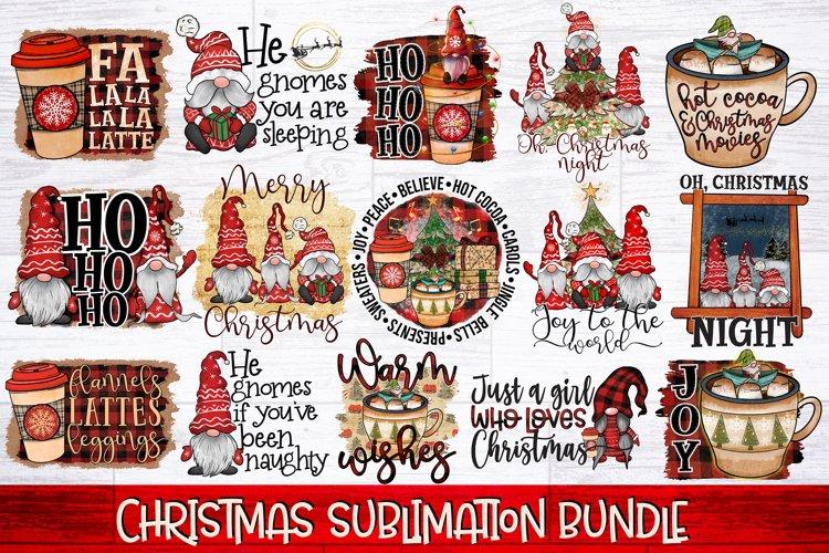 Christmas Sublimation Bundle | Christmas Gnomes PNG