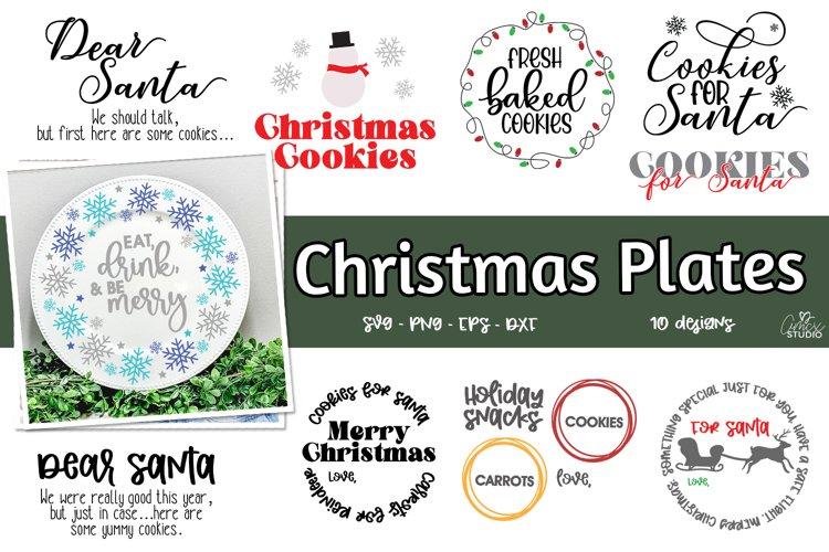 Christmas Plates - 2021 Christmas Bundle