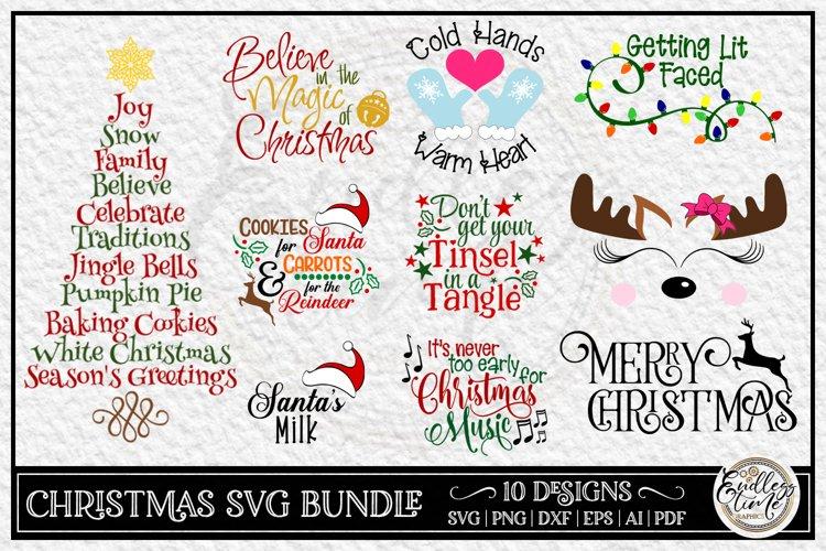 Christmas Bundle Vol 1 | 10 Fun Christmas SVG Designs