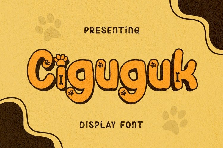 Web Font Ciguguk Font example image 1