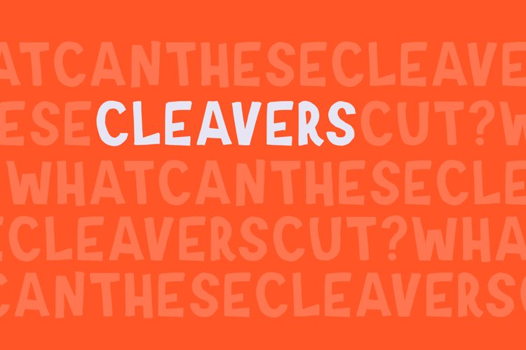 Cleavers example image 1